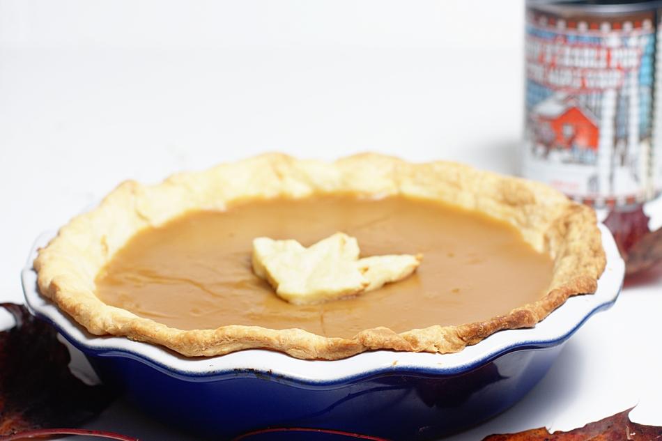 Maple Syrup Pie (Tarte au Sirop d'érable) - Klopp's Kitchen